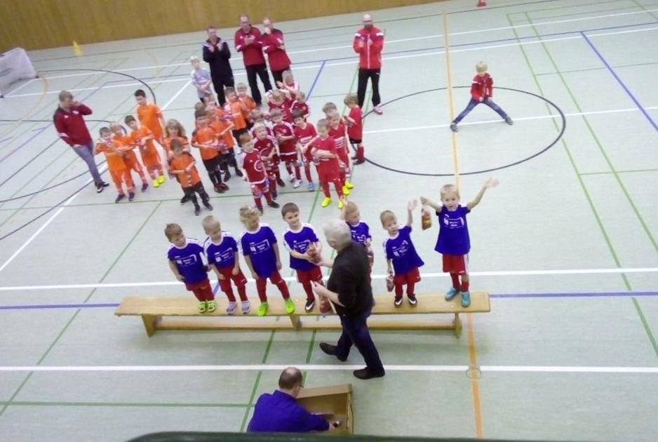 1. FUNino Turnier der G- Jugend im Fußballkreis Ostfriesland