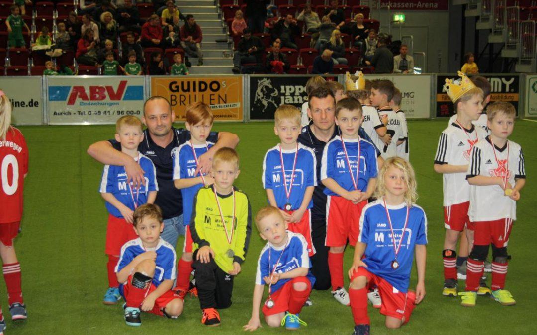 Aurich Cup Teilnahme unsere G- und F-Jugend!!