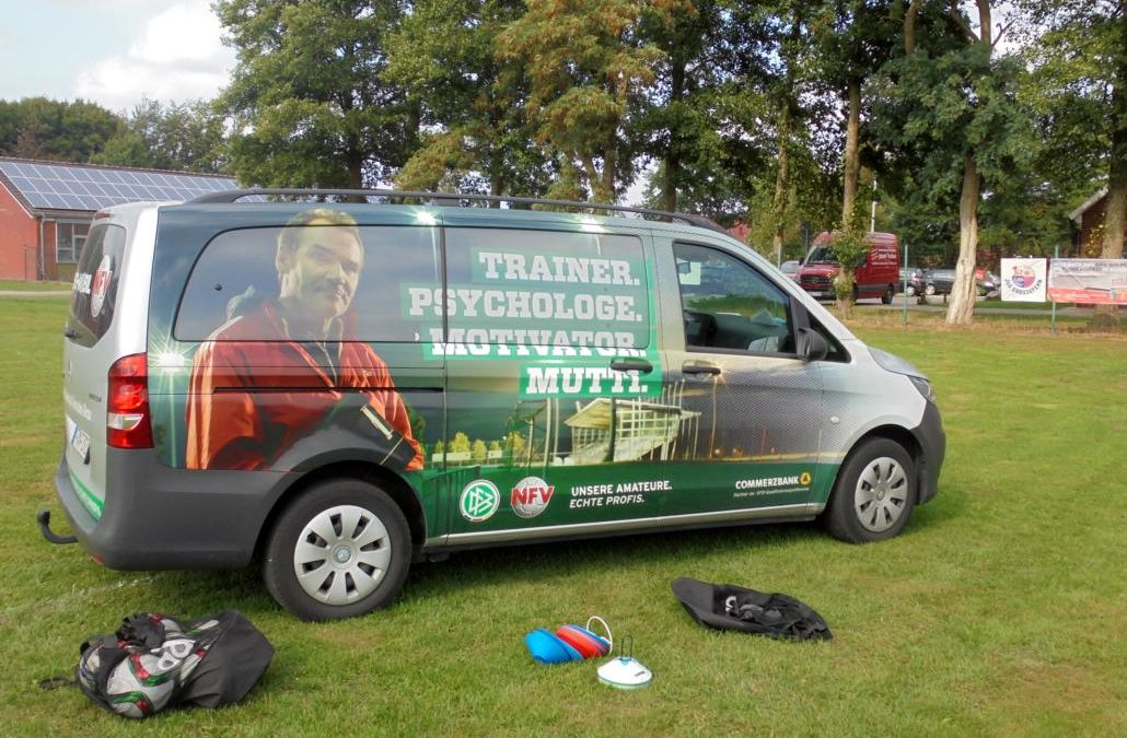 DFB-Mobil zu Gast in Spetzerfehn