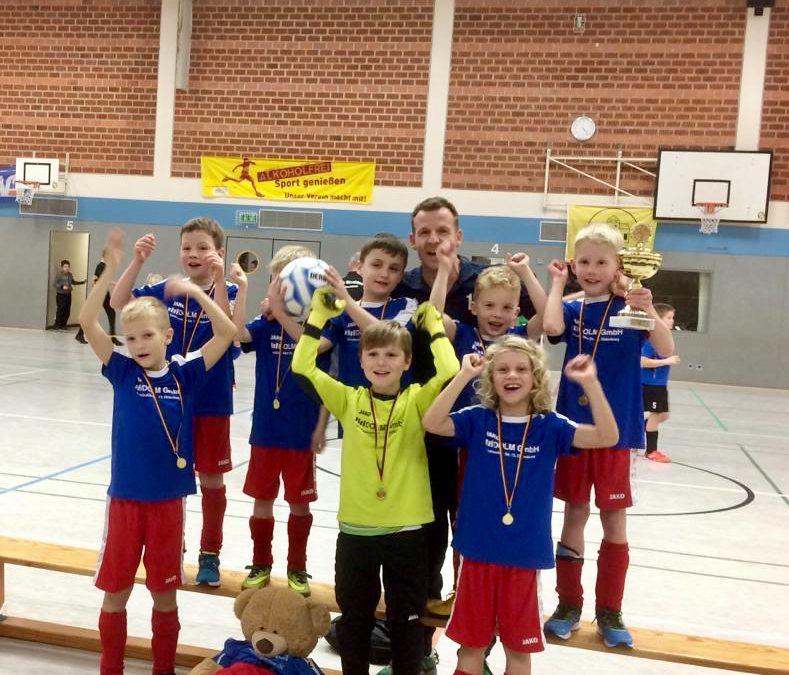 1. Platz unserer F-Jugend beim Strudden-Cup!!