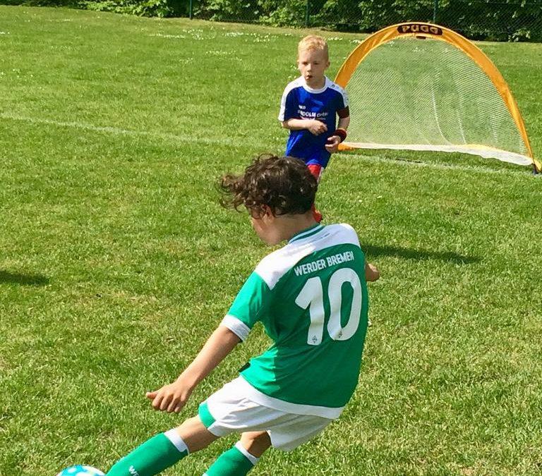 F-Jugend zu Gast beim VfL Oldenburg – Erfolgreiche Spiele gegen SV Werder Bremen