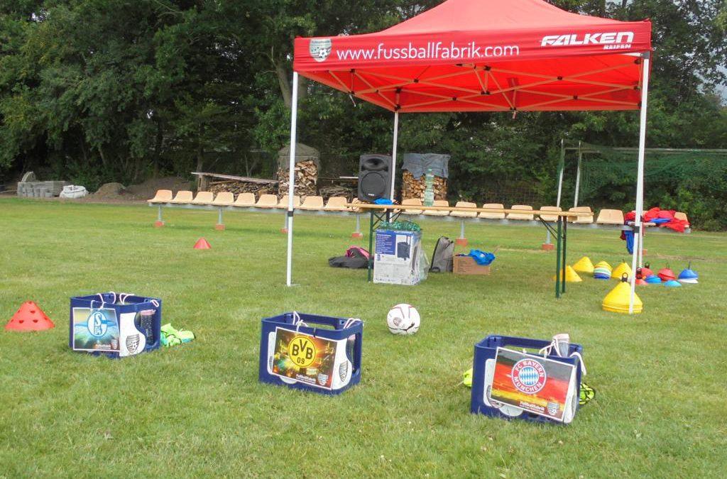 Fußballcamp beim SV Spetzerfehn im Juli