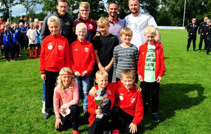E-Jugend gastierte für den EWE Cup in Hollen