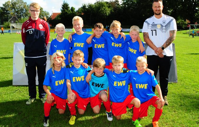 Teamfoto EWE Cup in Hollen