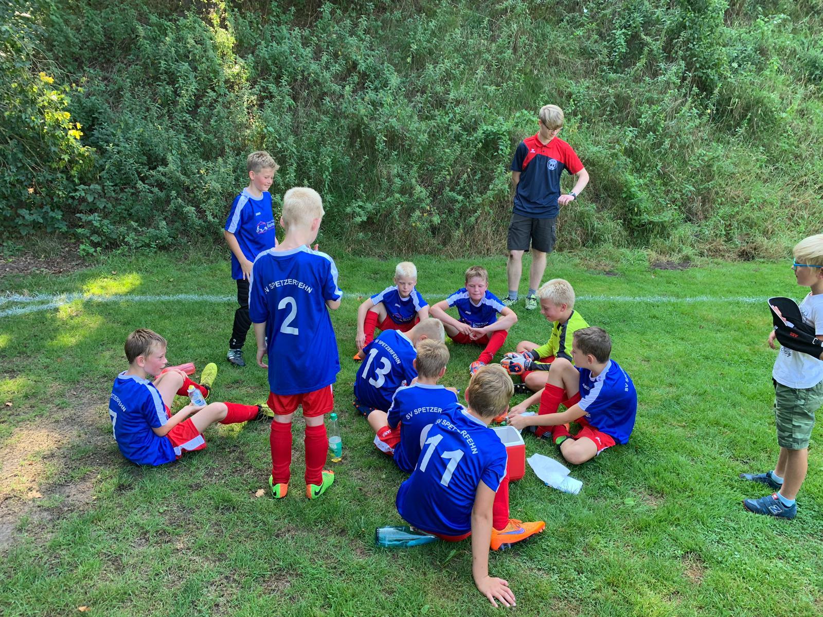 Liga-Spiel in Uplengen