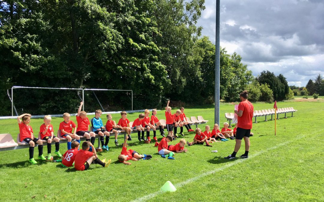 Fußballcamp begeistert Kinder, Eltern und Trainer