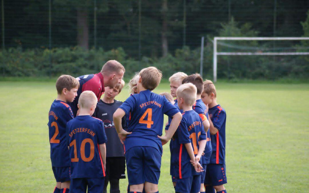 (Kinder-)Fußball beim SV Spetzerfehn