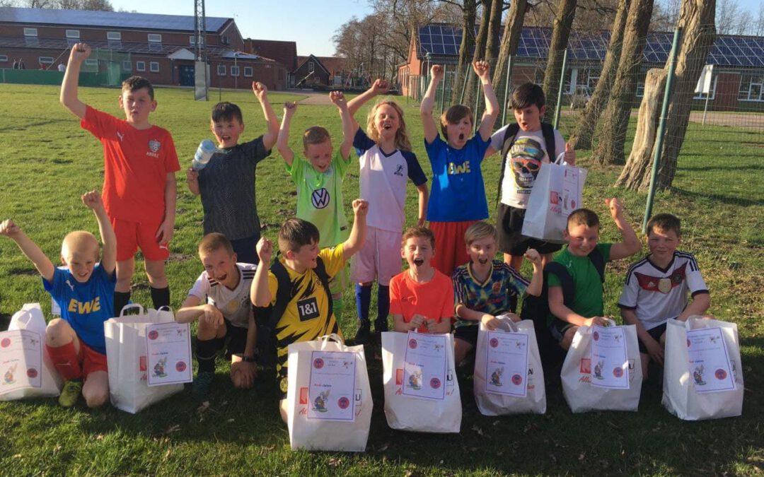 Osterüberraschungen für die Kinderteams